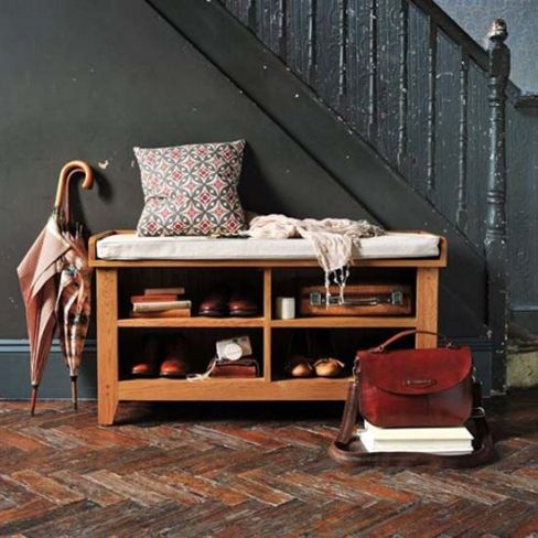 Oakland Shoe Storage Bench and Cushion