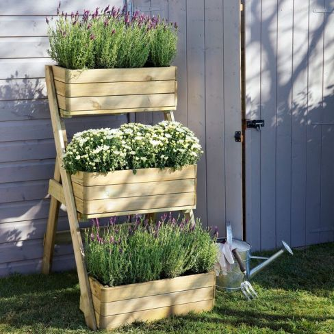 Natural Timber Wooden Planter