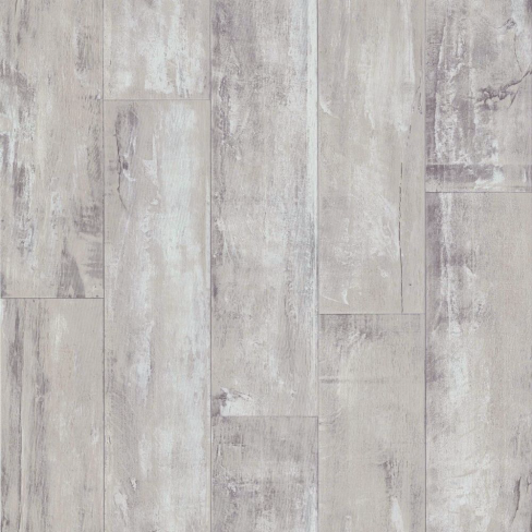 Imitation Beige and Grey Wood-effect Wallpaper