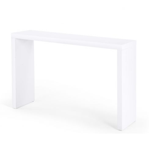 Bramante Large White Console Table