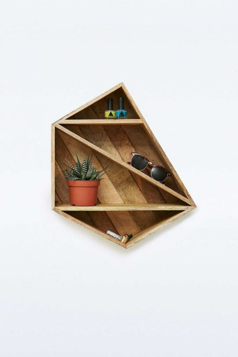 Magical Geo Wooden Shelf