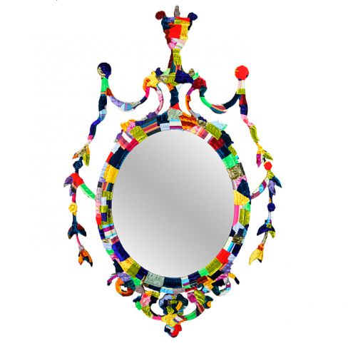 The Regency Oval Mirror