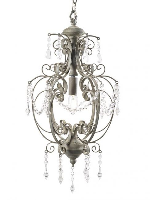 Medium Juliet Grey Chandelier
