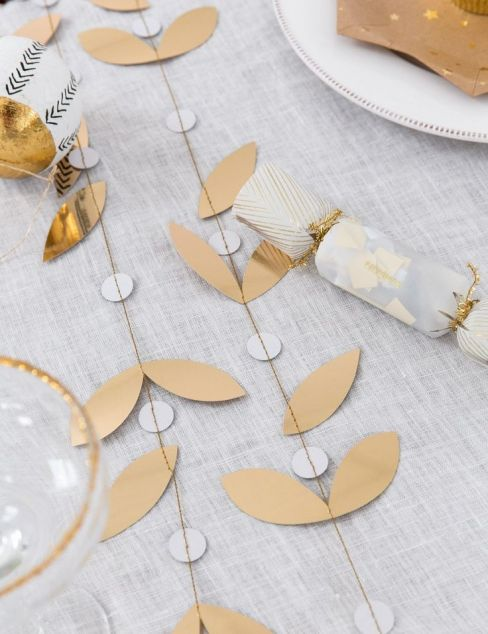 Gold Leaf Mini Garland