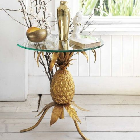 Golden Pineapple Table