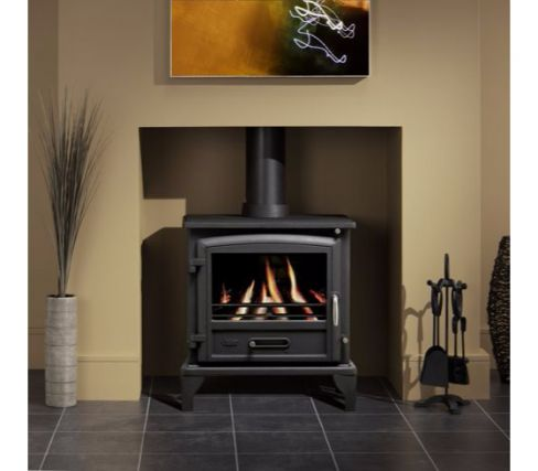 Valor Ridlington Cast-Iron Multi-Fuel Stove