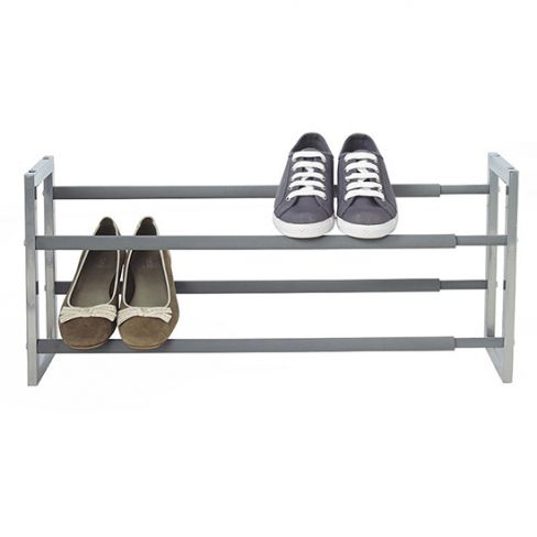 Extending Steel Shoe Rack