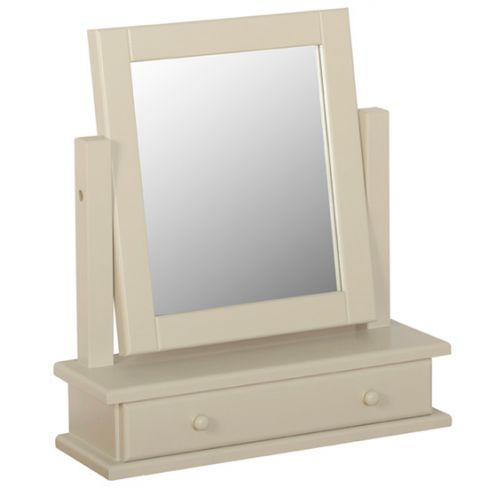 Lundy Dressing Table Mirror with Drawer