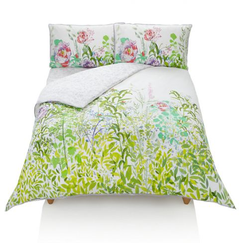 Rene Floral Print Bedding Set