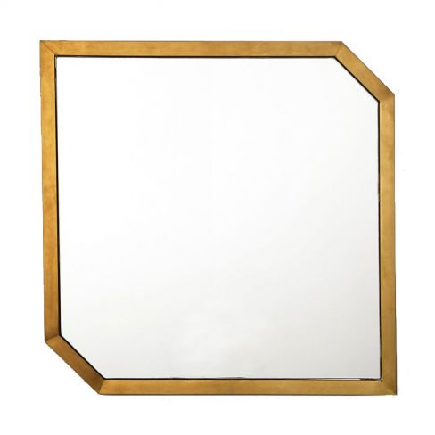 Conran Brushed Metal Frame Mirror