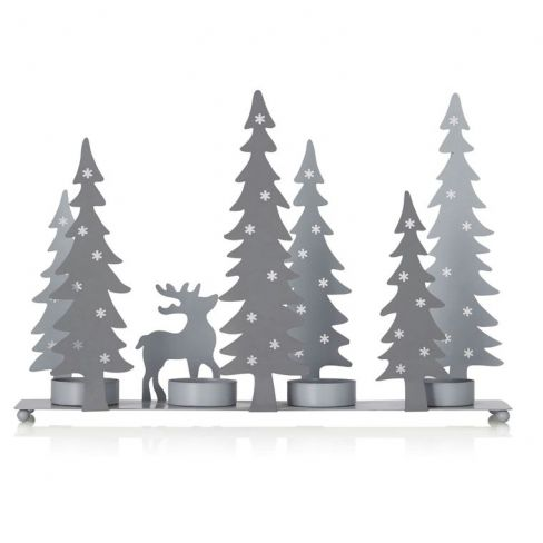 Alpine Scene Tealight Holder