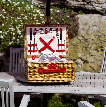 Colourful Picnic Hamper