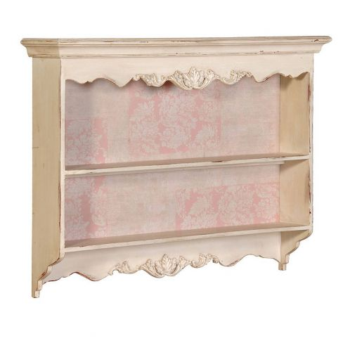 The Orchard Carved French Kitchen Wall Shelf