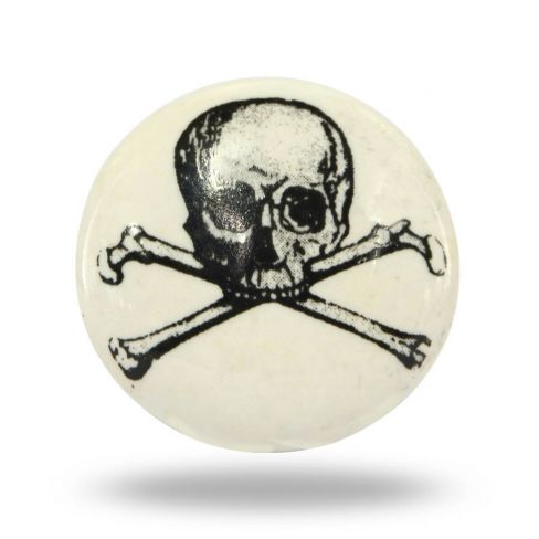 Ceramic Pirate Knob