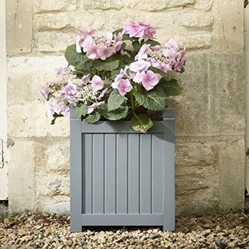 Elegant Hardwood Wooden Planter