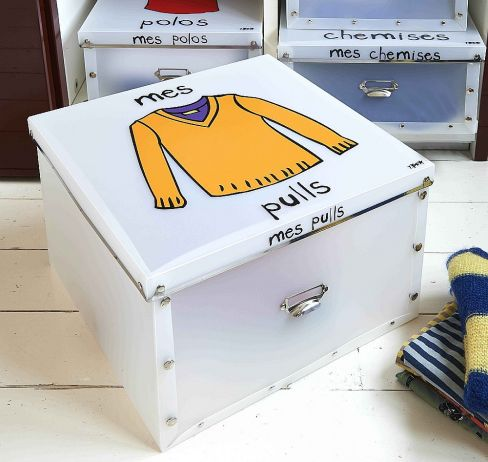 Foldable Jumper Storage Box