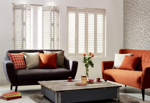 San Francisco Premium White Plantation Shutters