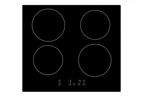ART29210 Black Glass Touch Control 4-zone Induction Hob