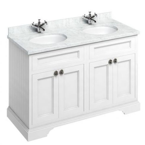 Burlington Twin Freestanding Vanity Unit