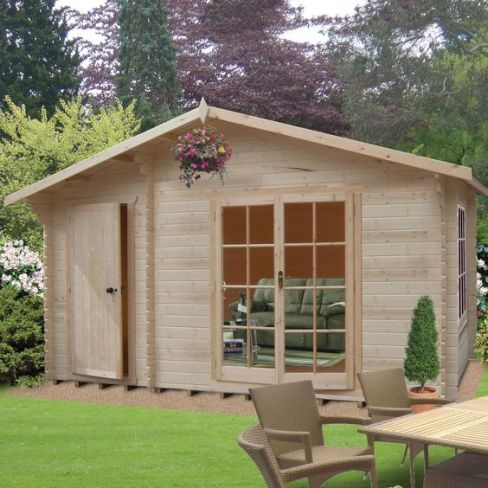 Bourne Tongue & Groove Timber Log Cabin