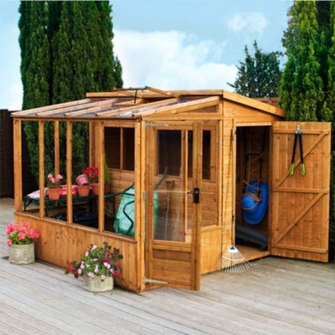 Mercia Combi Shed and Greenhouse
