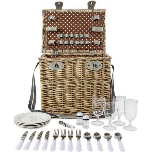 Four Person Picnic Hamper