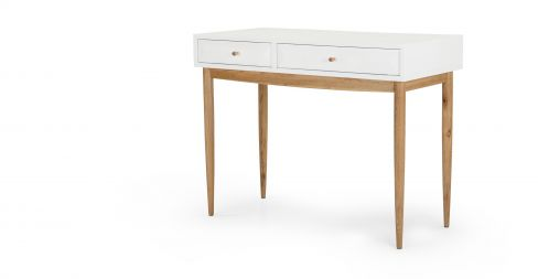 Willow Dressing Table in Oak and White