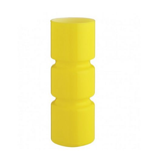 Fitz Yellow Glass Table Lamp