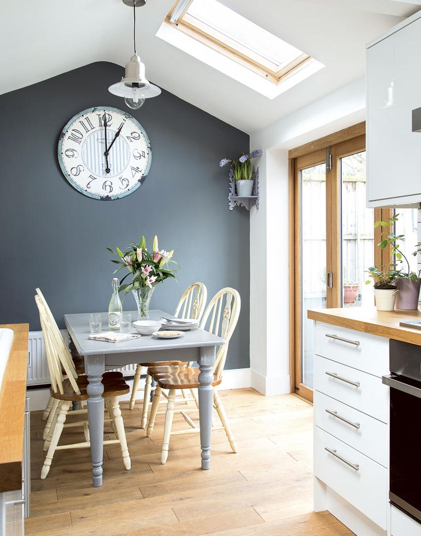 Try these budget tricks for super stylish kitchens the for Kitchen grey paint colors