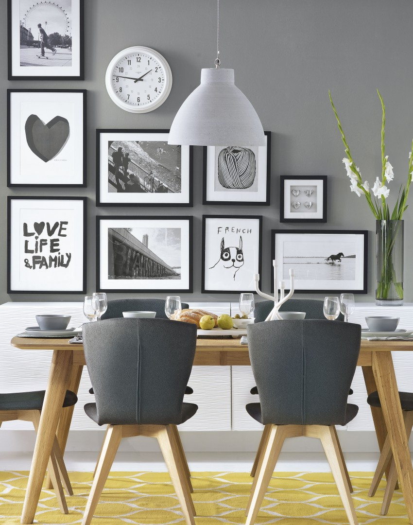 use furniture to make a statement in your dining room