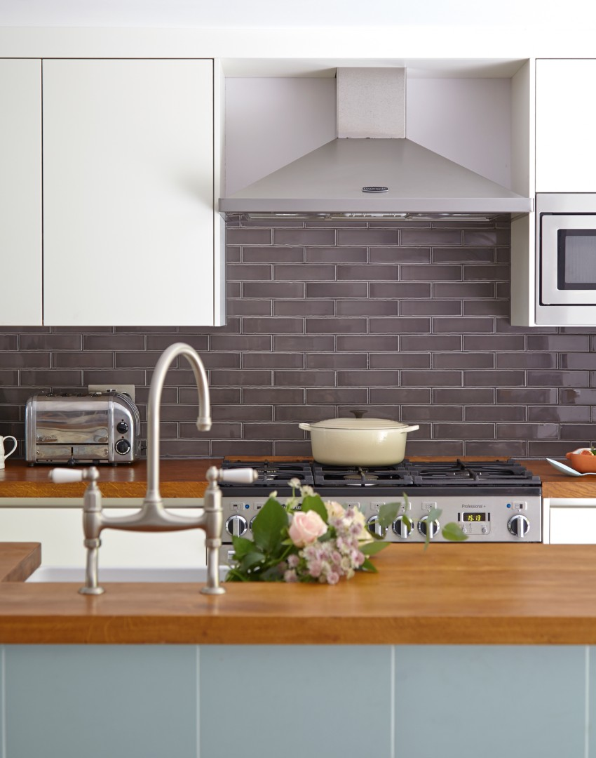 Kitchen Tiles Grey cut a dash in your kitchen with practical and attractive wall