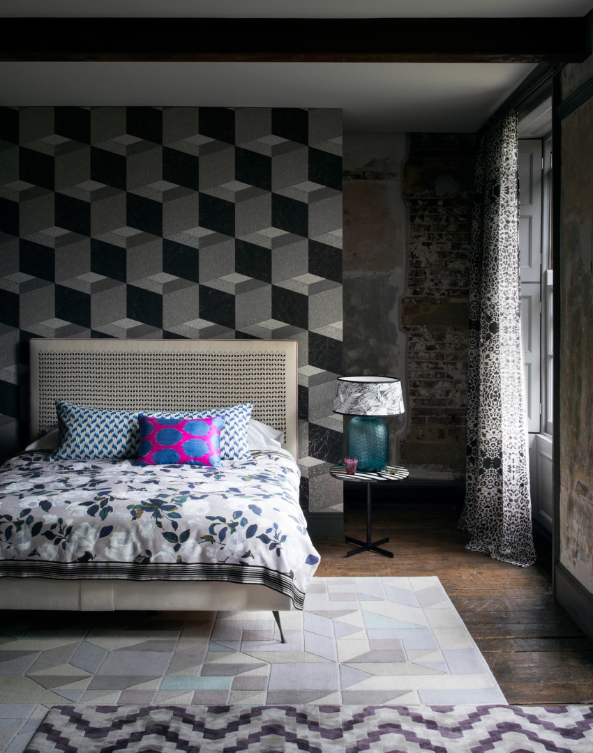 Patterned Wallpaper For Bedrooms Make Your Bedroom Gorgeous With Wallpaper The Room Edit
