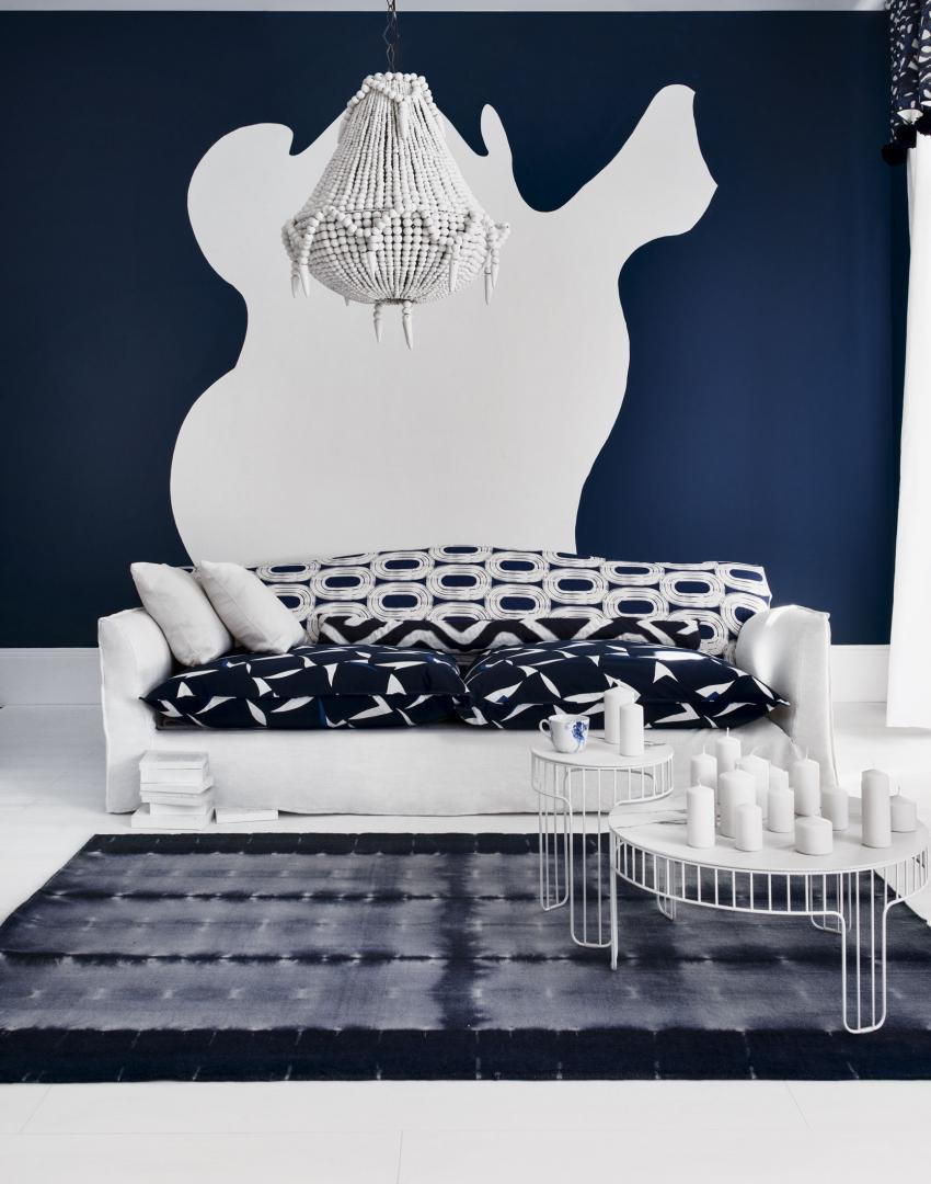 Navy Living Room Furniture Use Paint To Create A Living Room Brimming With Character The