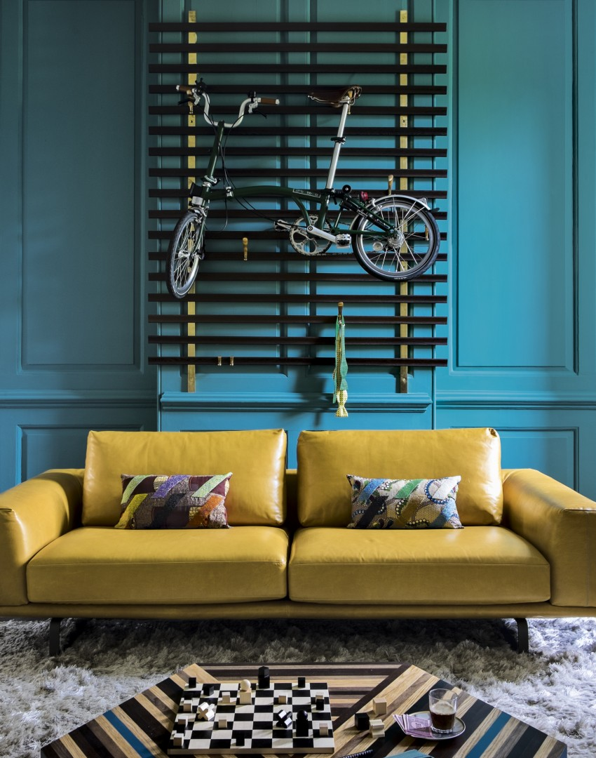 Give a living room character with clever colour ideas for Living room ideas mustard