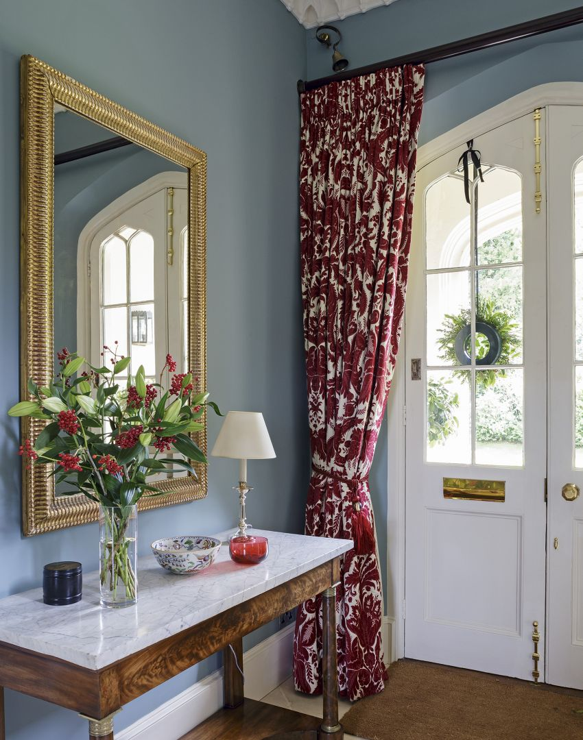 Blue Traditional Entrance Hall