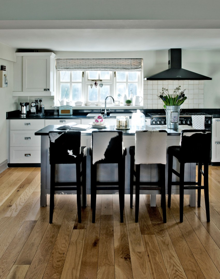 White Kitchen Units With Grey Worktop white kitchens with the wow factor - the room edit
