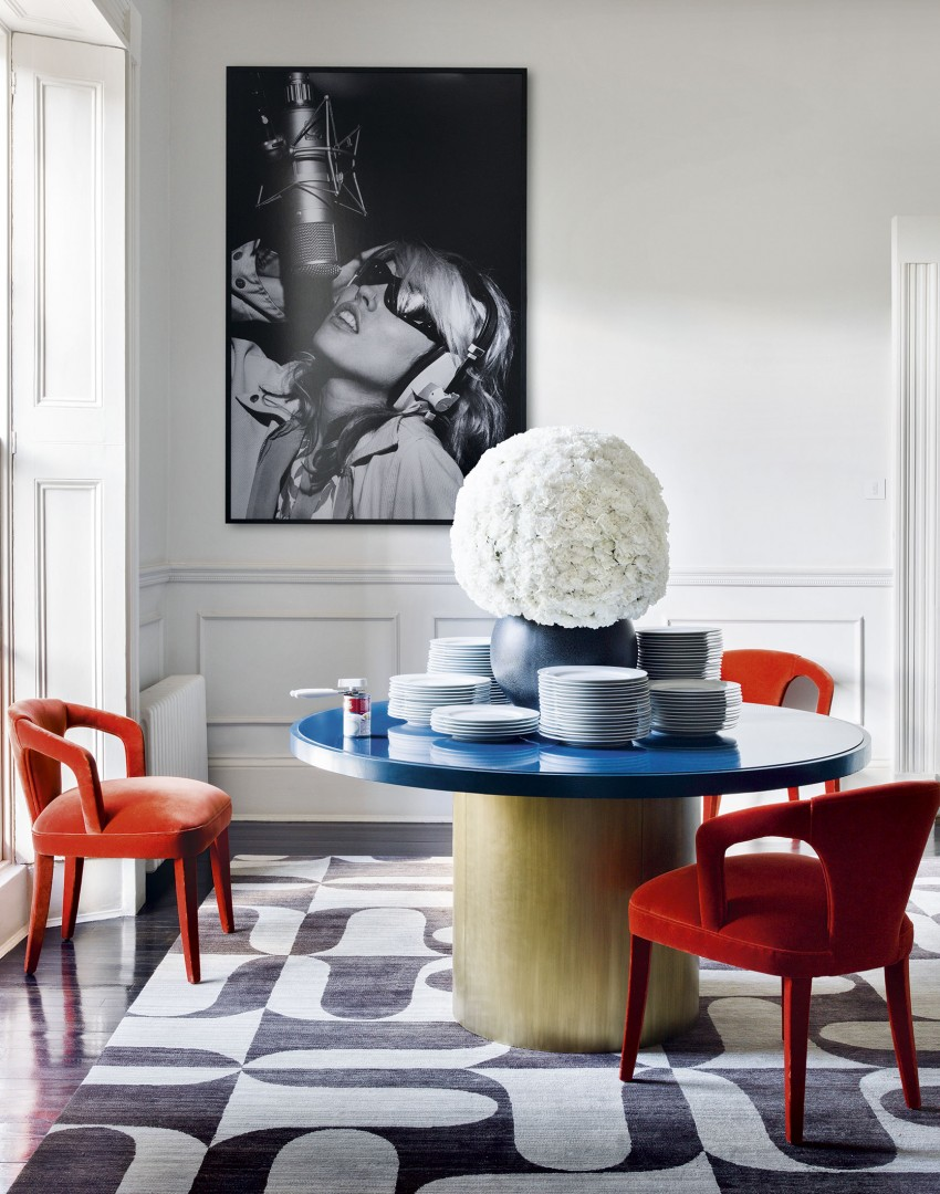 Impress with these utterly stylish ideas for dining tables for Dining table harry styles