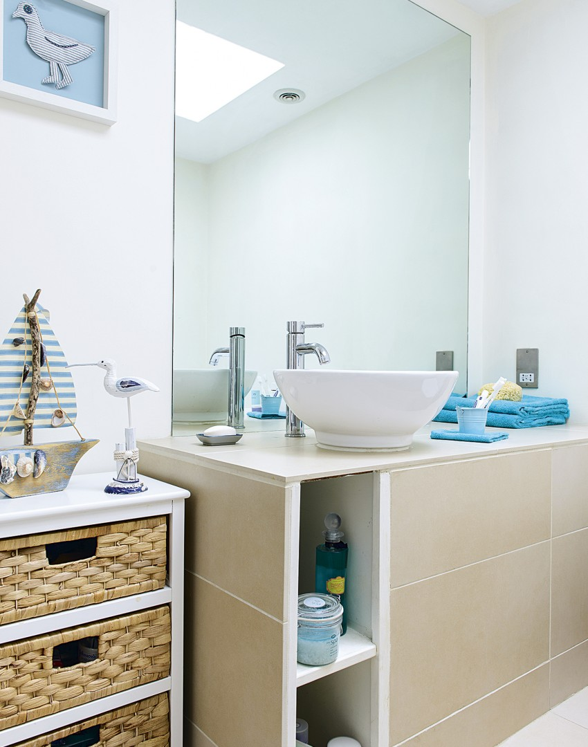 Clear the clutter with clever bathroom storage the room edit for Bathroom 94 percent