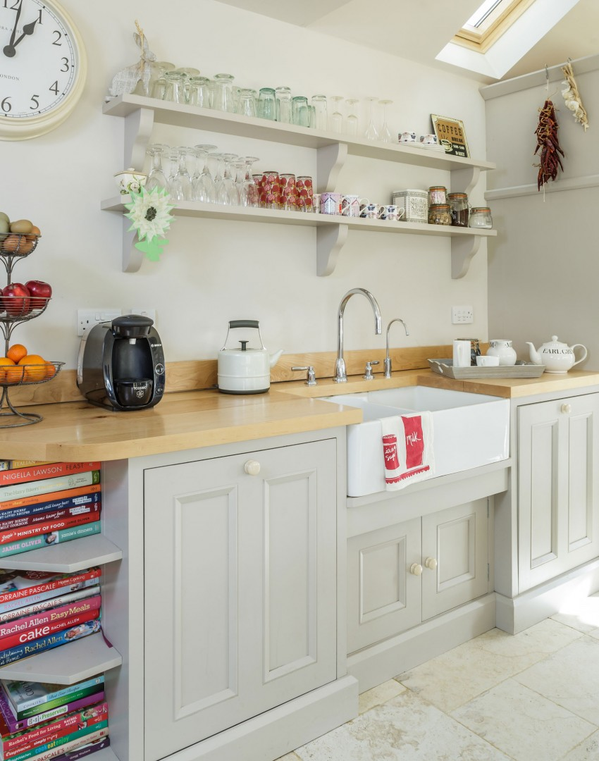 Get organised with versatile kitchen storage the room edit for Traditional kitchen shelves