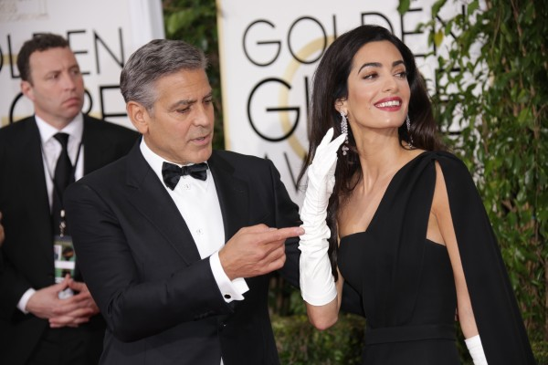 Amal Clooney's Harry Winston Earrings