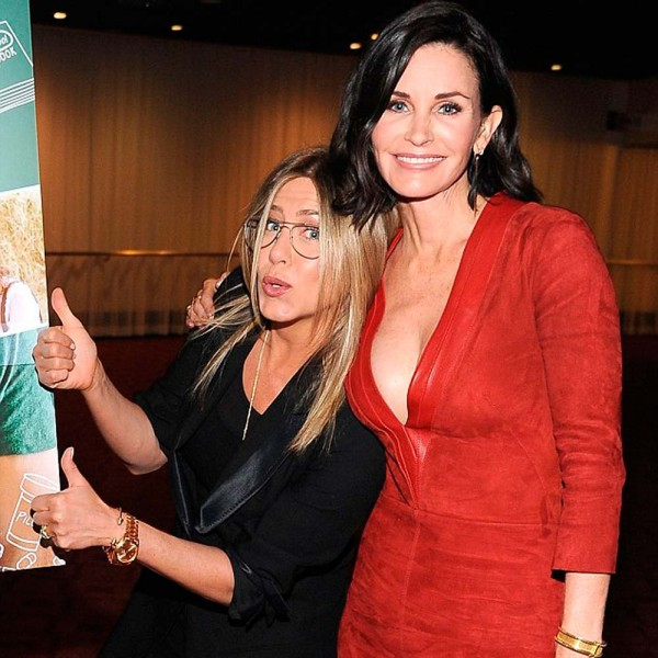Jennifer Aniston and Courteney Cox have been BFF's for over 20 years...