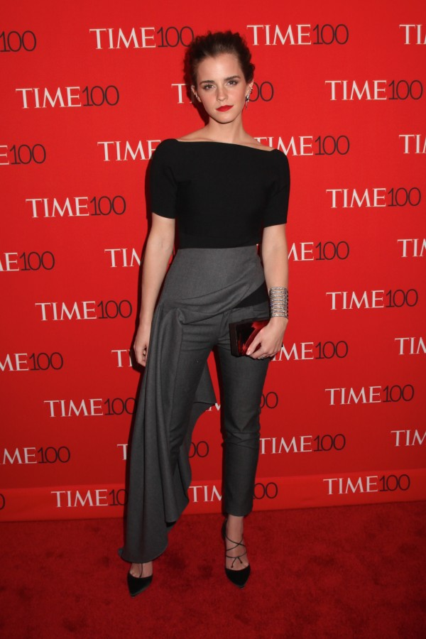 Emma Watson wows at the TIME 100 Gala in New York