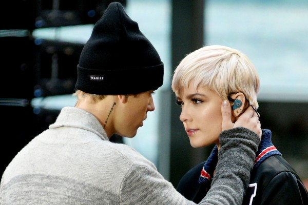 Halsey with Justin Bieber