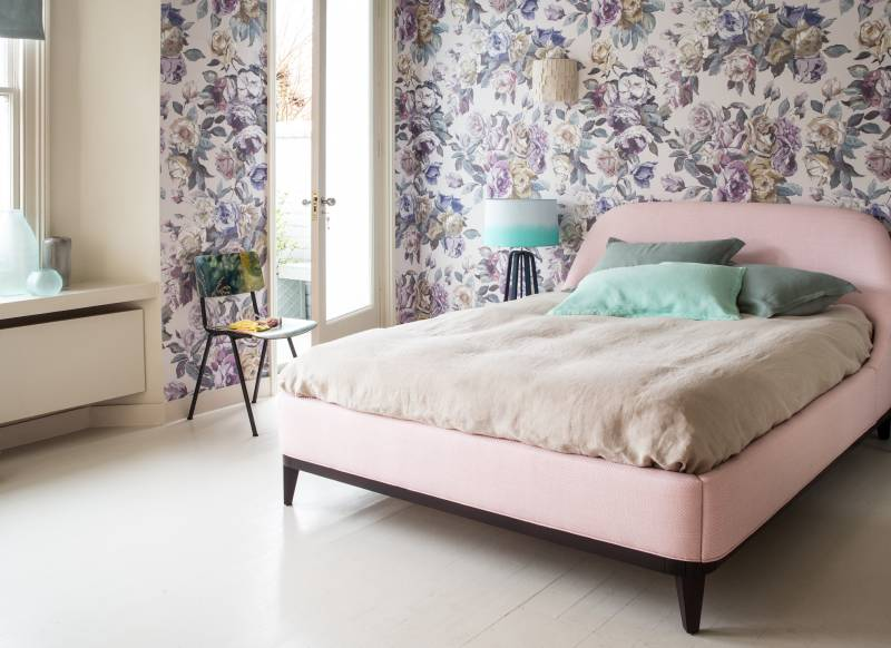 Make Your Bedroom Gorgeous with Wallpaper - The Room Edit | 800 x 582 jpeg 59kB