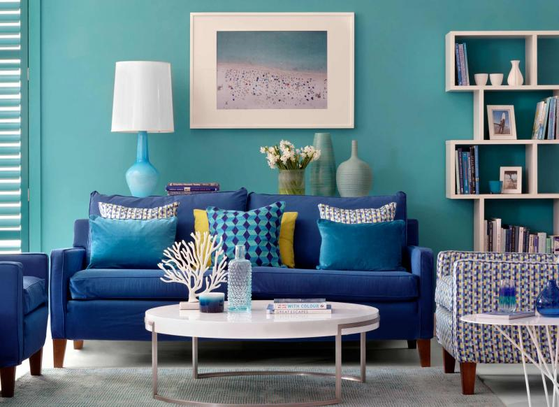 Use Paint To Create A Living Room Brimming With Character