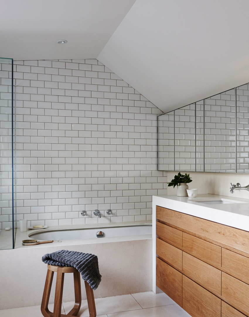 metro tiled bathroom stay neat and tidy with stylish bathroom cabinets the 13638