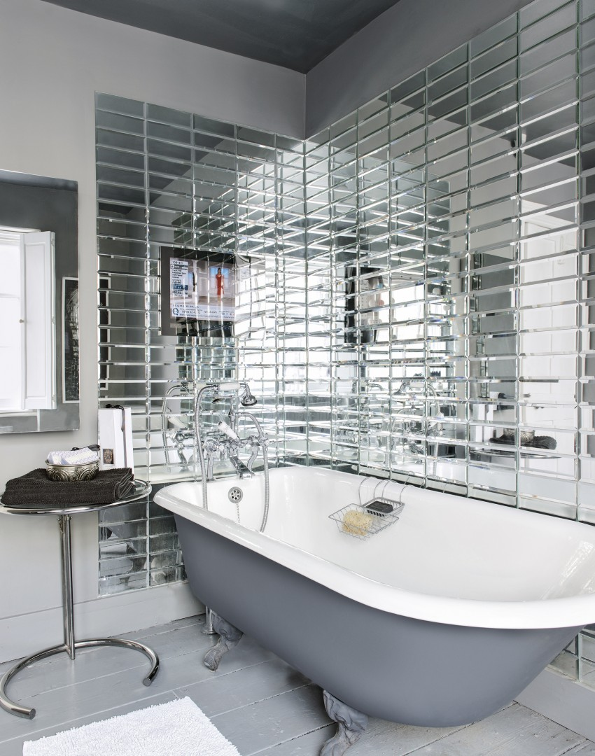 mirrored bathroom tiles refresh and revitalise your bathroom with glamorous tiles 13688