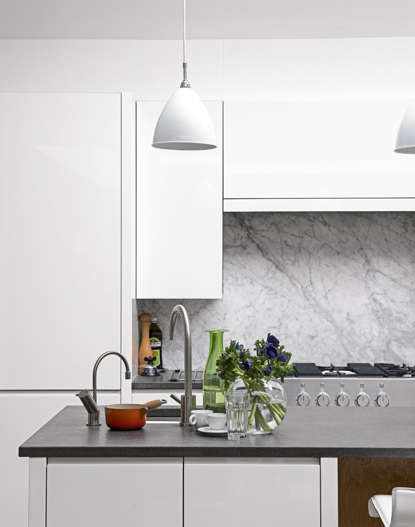 Modern White Kitchen Remodel In Salt Lake City Ut: White Kitchens With The Wow Factor