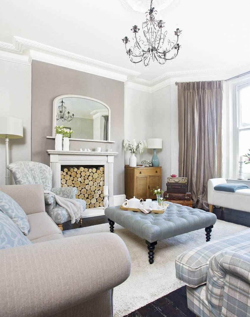 Living Room Designs Traditional: Create A Practical Living Room Suitable For Family Life