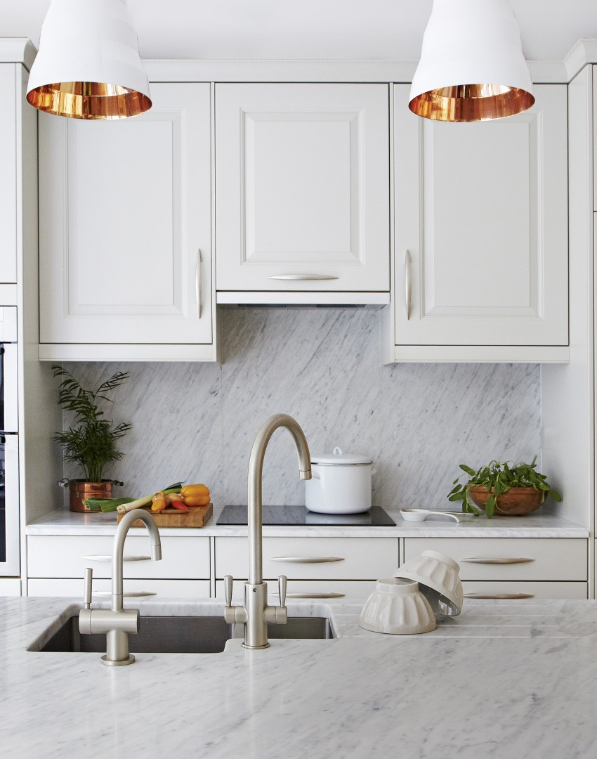 white pendant lights kitchen revive your kitchen with a show stopping splashback the 1446